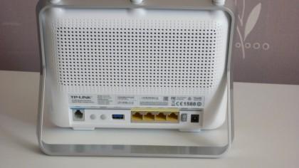 TP-Link Archer D9 rear