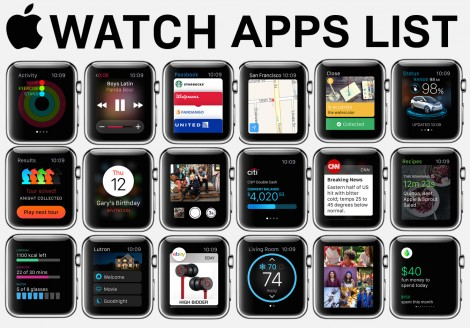In Depth: All 63 major Apple Watch apps to download at launch