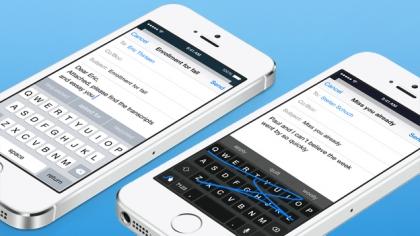 iOS 8 quicktype vs Swype