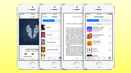 iOS 8 release date family sharing feature
