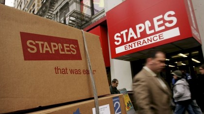 Staples box