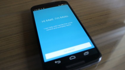 Moto X 2014 review apps