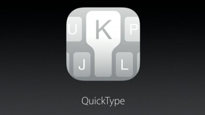 The QuickType keyboard returns in iOS 9 with a vengeance