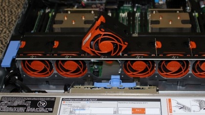 Dell PowerEdge R730 fans