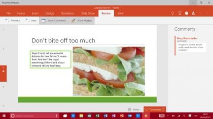 Office 2016 Presentation