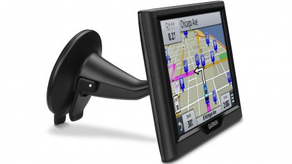 Side view of the Garmin nuvi 68LM