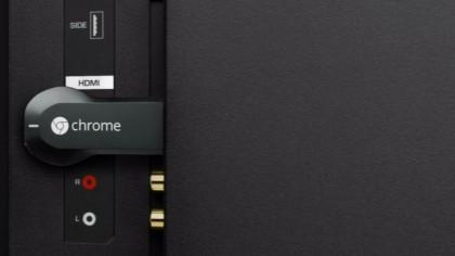 chromecast uk plugged in