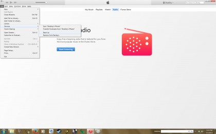iOS backup how to