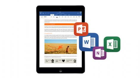 Microsoft updates Office for iOS for easier, more secure sharing