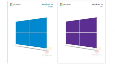 Is that what boxed Windows 10 software will look like?