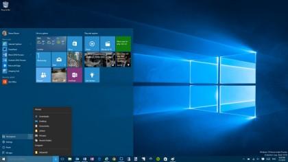 Windows 10 brings back the start menu