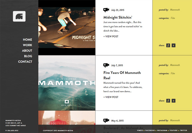 Mammoth Media Blog