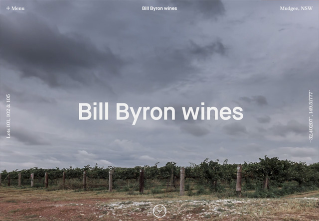 Bill Byron wines