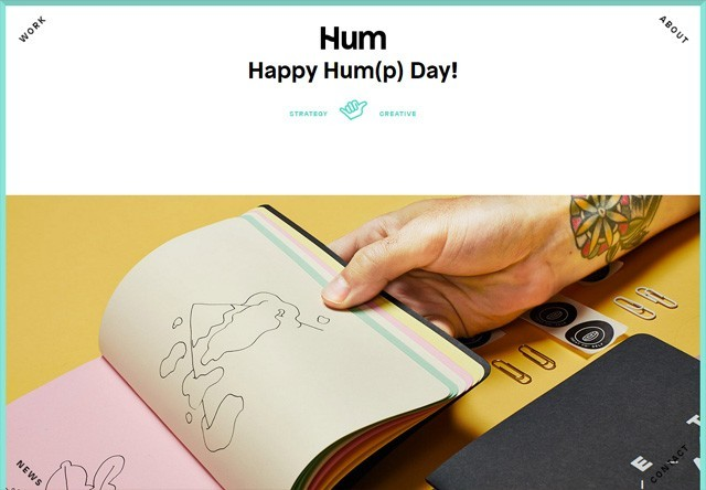 Design agency: Hum Creative