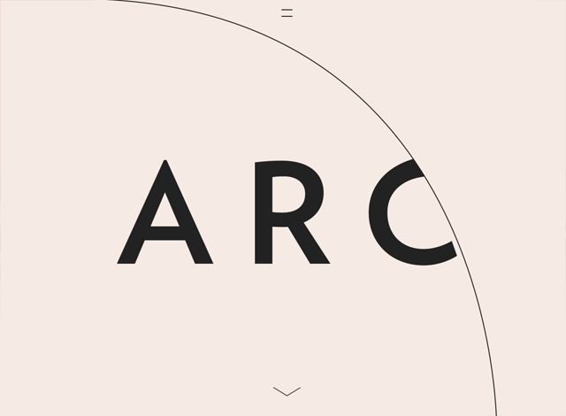 One-page website: Arc