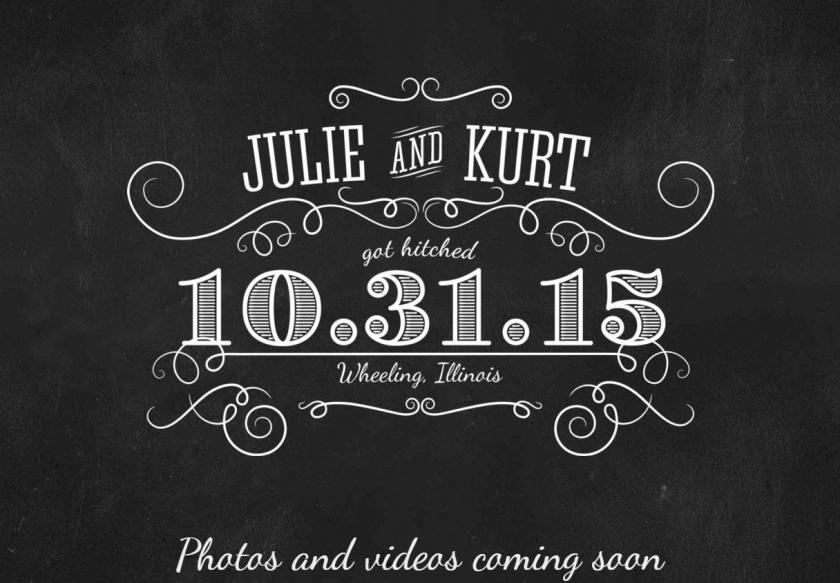 Julie Clute and Kurt Elster