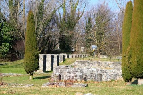 Roman Ruins in Lausanne