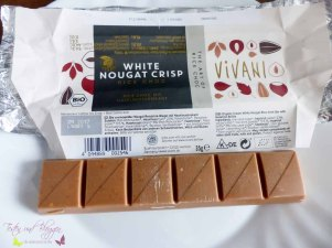 Vivani White Nougat Crisp Reis Schokolade