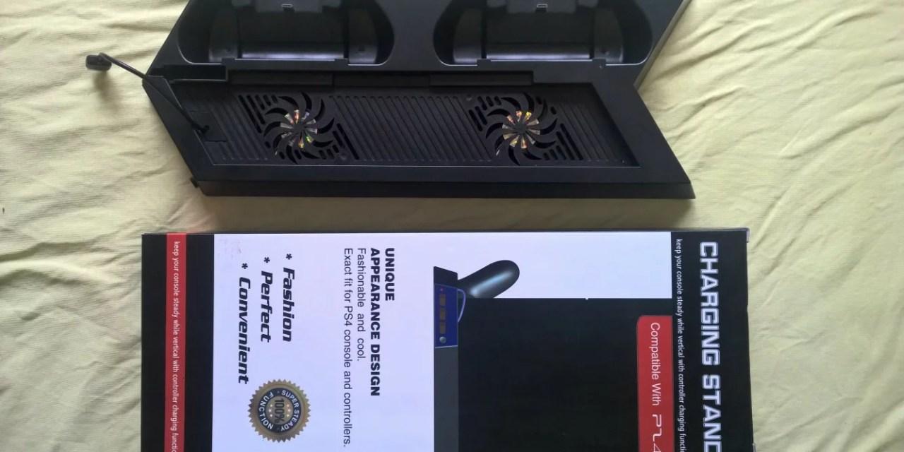 Dockingstation für die PS4 + 2 Controller [Supremery Double Series PS4 Ladegerät]