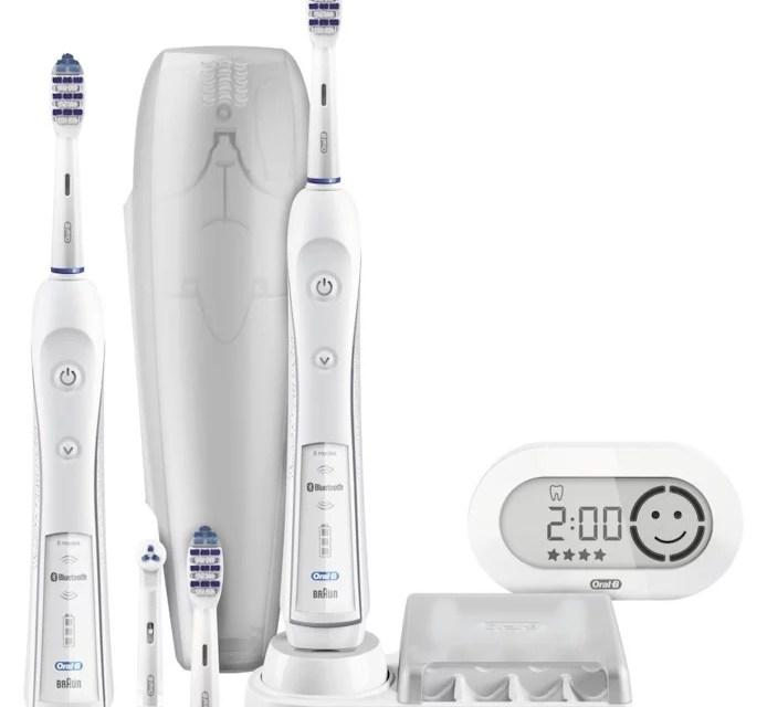 Schöne Zähne [elektrische Zahnbürsten von Oral B (5 von 5)]