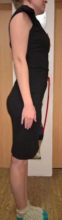 Ich hab´s gerafft...[VictoriaV Etuikleid mit Schulterdrappierung] im Produkttest