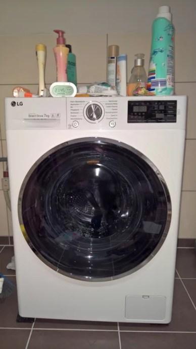Waschen mit gewissen Extras [ Waschmaschine LG Electronics F 14U2 (6 von 5)] im Produkttest
