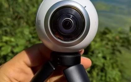 niedliches Dreibein (Panoramakamera Gear 360 [3 von 5)]