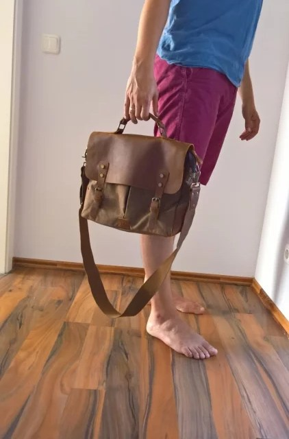 Ich trag nen Büffel rum [Vintage Tasche von Langforth (5 von 5)]