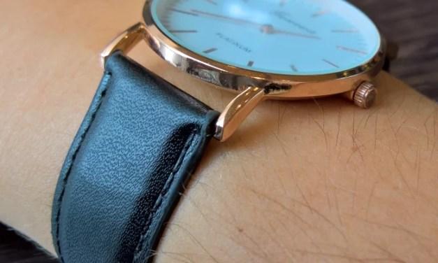 Schlanke Uhr für schlankes Geld  [Armbanduhr von Geneva (4 von 5)]