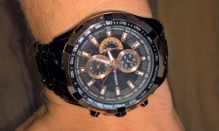 Die Pranzeruhr [Armbanduhr von Curren (5 von 5)]