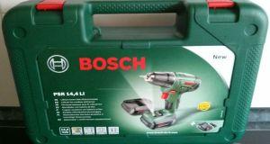 Bosch PSR Akku-Bohrschrauber 4