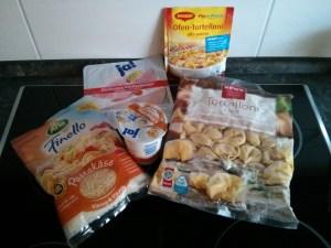 Maggi Ofen-Tortelloni alla panna - Zutaten