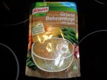 Knorr Grüne Bohnentopf mit Speck