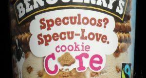 Ben & Jerry's Speculoos? Specu-Love. 1