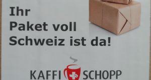 Schweizer Schokolade vom Kaffi Schopp 1
