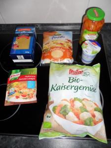 Knorr Mediterrane Gemüse Lasagne (5)