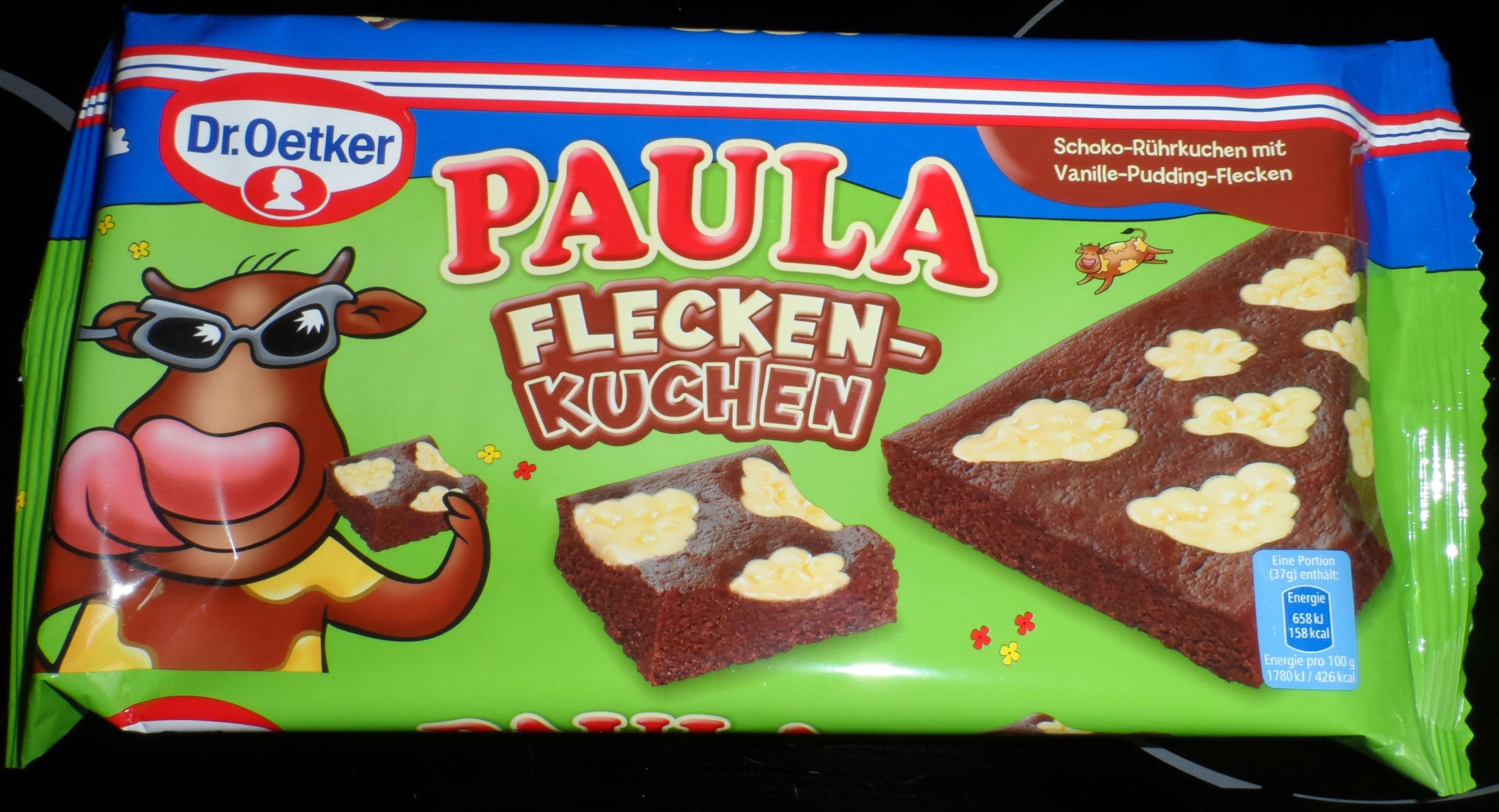 Dr Oetker Paula Fleckenkuchen Testeritis