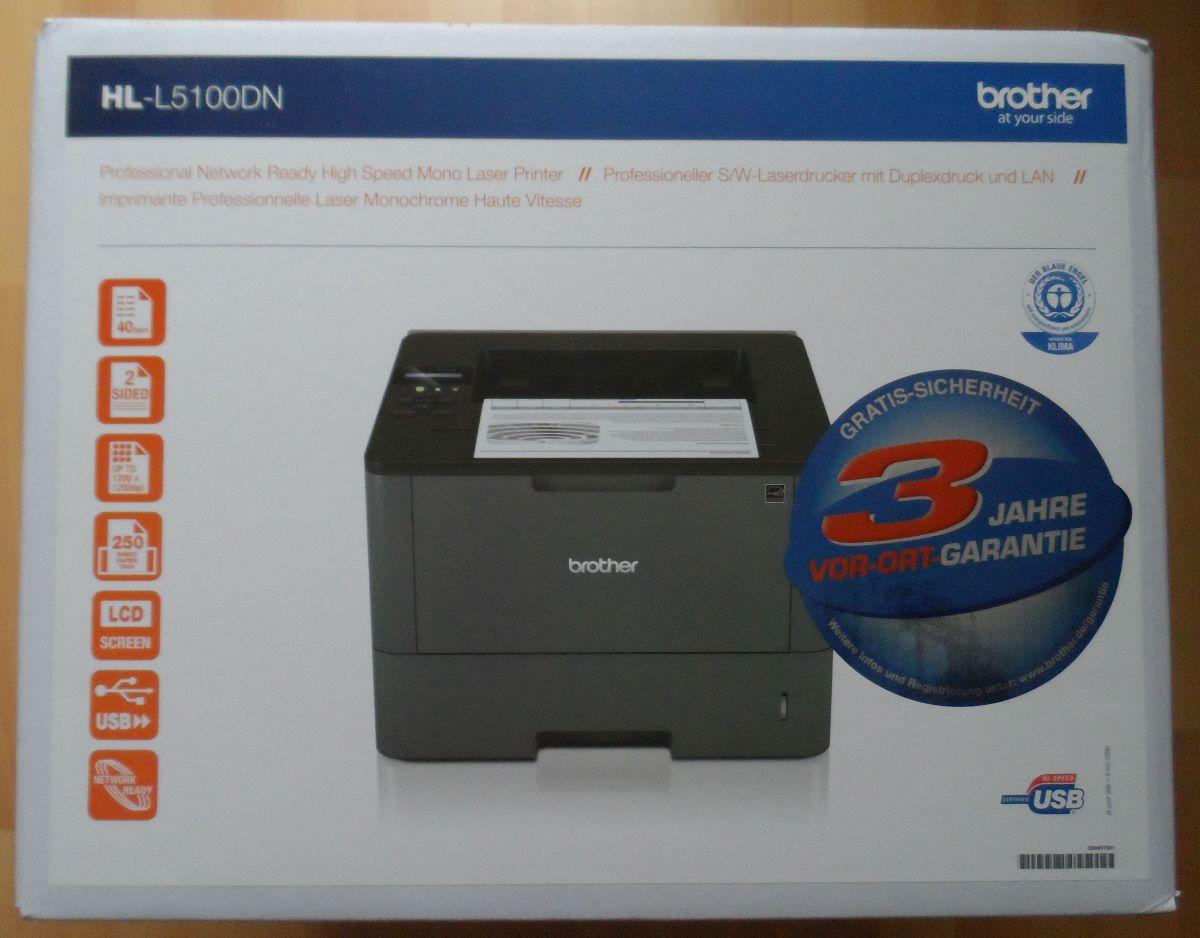 getestet brother Laserdrucker HL-L5100DN