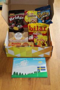 SNACKBOX Vernasche die Welt Schweden