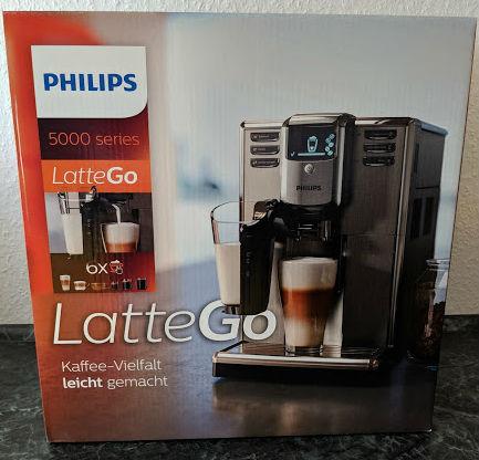 getestet Philips Kaffeevollautomat 5000 mit LatteGo