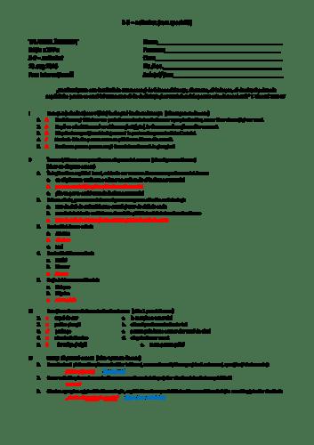 Grilă Test special 5 – Faza Internațională – Exodul