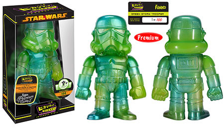 Hikari Sofubi: Star Wars - Green Stormtrooper - Limitiert auf 100 Stück