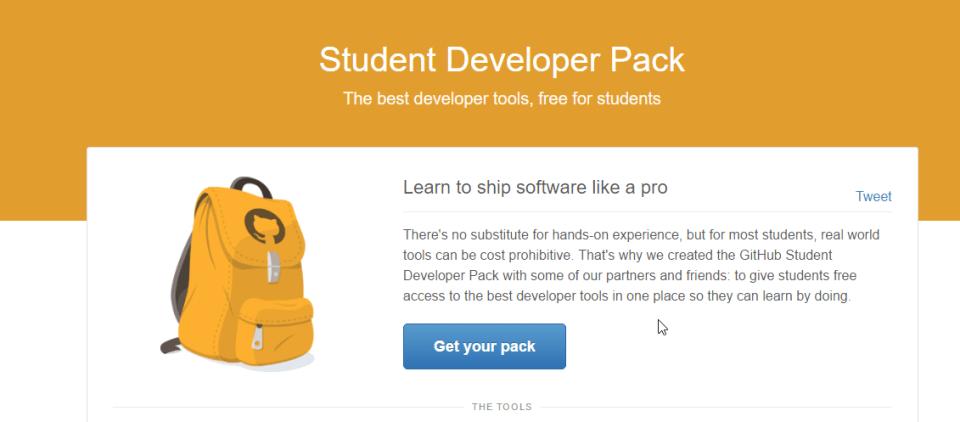 github student pack