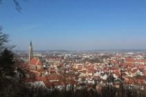 Blick auf die malerische Stadt Landshut