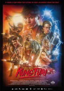 """Poster zum Kurzfilm """"Kung Fury"""""""