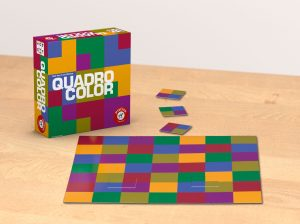 """Der Aufbau des Spiels """"Quadro Color"""""""