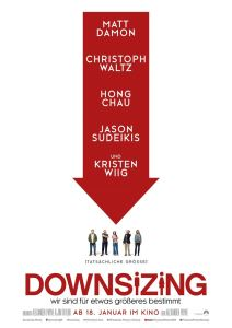 "Poster zum Film ""Downsizing"""