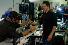 VR-Spiel im Kinopolis