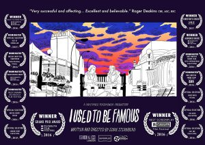"Poster zum Kurzfilm ""I used to be famous"""