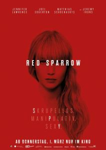 "Poster zum Film ""Red Sparrow"""